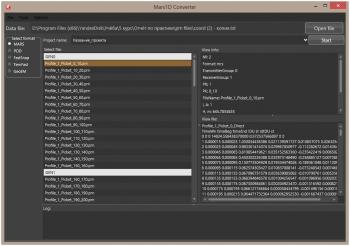 Рисунок 2.17. Главное окно программы MARS1d converter